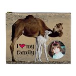 Camel Cosmetic Bag (XL)