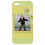Lemon and Lime Apple iPhone 5 Hardshell Case