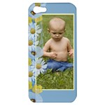 Blue Poppy Apple iPhone 5 Hardshell Case