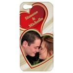 My Heart Apple iPhone 5 Hardshell Case