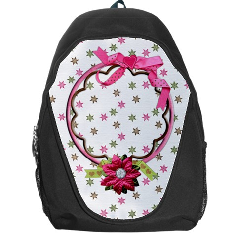 Merry Backpack By Shelly   Backpack Bag   X8nbs1a2h34d   Www Artscow Com Front