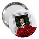 Roses 3  Handbag Mirror