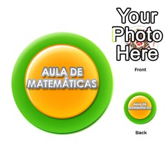 Aula De Matemáticas By Matematicaula   Playing Cards 54 (round)   9tt2j7vq9xnf   Www Artscow Com Back
