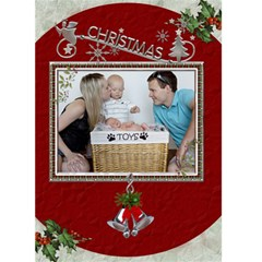 Christmas 5x7 Greeting Card By Lil    Greeting Card 5  X 7    4q6pctx9rgrd   Www Artscow Com Front Cover