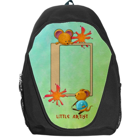 Artist Backpack By Shelly   Backpack Bag   Bsz3vp5vith3   Www Artscow Com Front