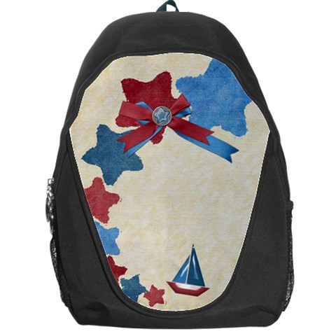 Stars Backpack By Shelly   Backpack Bag   Q5ccq0kmbe1l   Www Artscow Com Front
