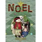 Noel 5x7 Greeting Card - Greeting Card 5  x 7