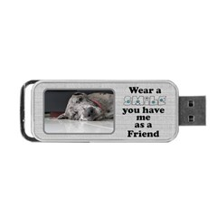 Smile Usb Flash (2 Sided) By Deborah   Portable Usb Flash (two Sides)   Motp7fb1e1vy   Www Artscow Com Back