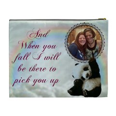 Panda Cosmetic Bag (xl) 2 Sides By Kim Blair   Cosmetic Bag (xl)   Vl1q4u1l0xc7   Www Artscow Com Back