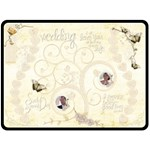 Heirloom Wedding Extra Large Fleece Blanket - Fleece Blanket (Extra Large)