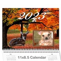 Animal Calendar 2015 By Kim Blair   Wall Calendar 11  X 8 5  (12 Months)   Tcpzosgp4pi1   Www Artscow Com Cover