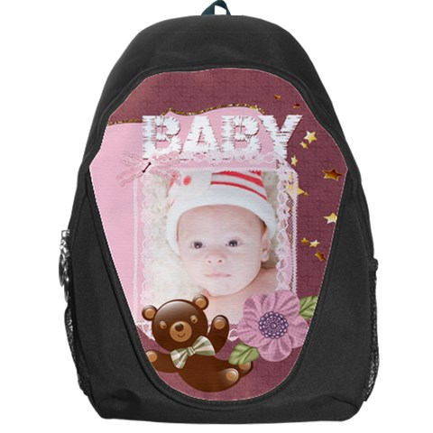 Baby By Joely   Backpack Bag   8sl1fvo89j69   Www Artscow Com Front