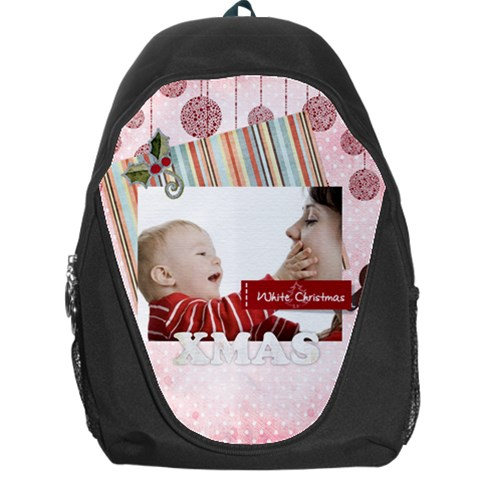 Xmas By Joely   Backpack Bag   Fxmsc5obbrae   Www Artscow Com Front