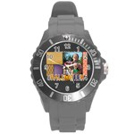 halloween - Round Plastic Sport Watch Large