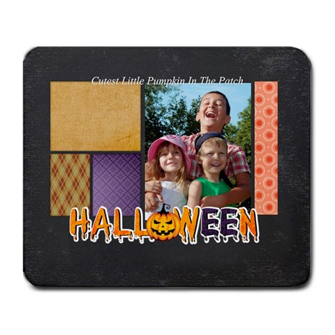 Halloween By Joely   Large Mousepad   N03512vfjuct   Www Artscow Com Front
