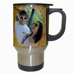 Sarahcody Mug By Patricia   Travel Mug (white)   M4qscsws5xs6   Www Artscow Com Right