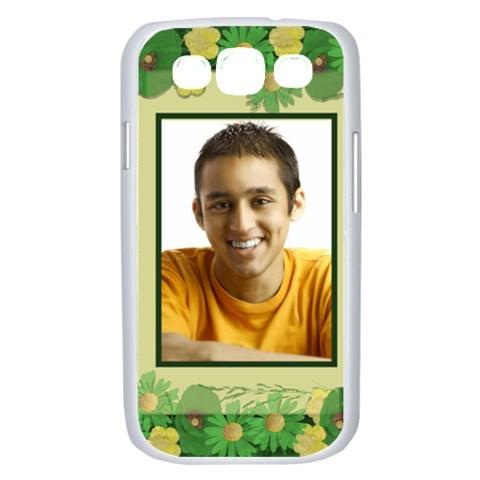 Poppy Fields Samsung Galaxy  S Iii Case (white) By Deborah   Samsung Galaxy S Iii Case (white)   Pmlg9375yok6   Www Artscow Com Front