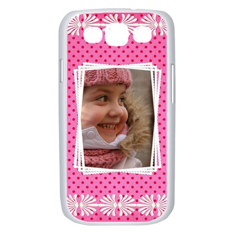 Princess Samsung Galaxy S Iii Case (white) By Deborah   Samsung Galaxy S Iii Case (white)   F521pb1eglrc   Www Artscow Com Front