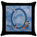 Reach for the Stars Throw Pillow Case - Throw Pillow Case (Black)