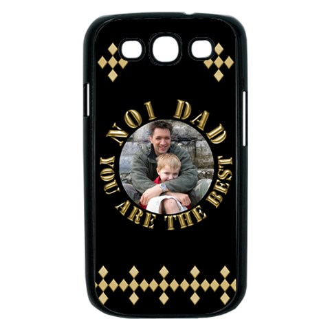 Best Dad Samsung Galaxy S Iii Case (black) By Deborah   Samsung Galaxy S Iii Case (black)   9cwairyapc4w   Www Artscow Com Front