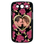 Poppy Love Samsung Galaxy S III Case (black)