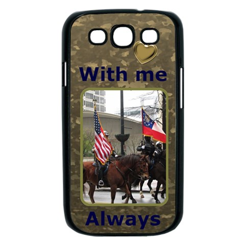 Military Samsung Galaxy S Iii Case (black) By Deborah   Samsung Galaxy S Iii Case (black)   Bem2bm87jv6q   Www Artscow Com Front