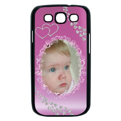 Diamond Pink Samsung Galaxy S Iii Case (black) By Deborah   Samsung Galaxy S Iii Case (black)   It51qw8lzt11   Www Artscow Com Front
