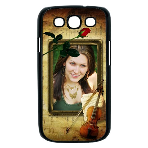 Music Samsung Galaxy S Iii Case (black) By Deborah   Samsung Galaxy S Iii Case (black)   Vqjeaqkkxgr3   Www Artscow Com Front