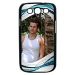 Blue Wave Samsung Galaxy S III Case (black)