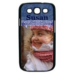 Blue Frill Samsung Galaxy S III Case (black)