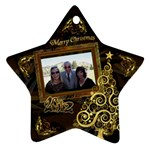 Christmas 2012 Tree Ornament - Ornament (Star)