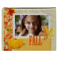 Fall By Joely   Cosmetic Bag (xxxl)   M10qlcumzs2b   Www Artscow Com Front