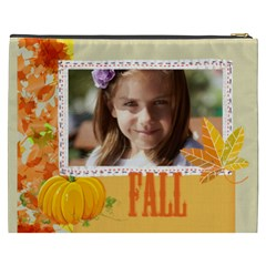 Fall By Joely   Cosmetic Bag (xxxl)   M10qlcumzs2b   Www Artscow Com Back