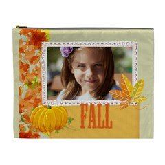 Fall By Joely   Cosmetic Bag (xl)   Ecehsrvsnr38   Www Artscow Com Front
