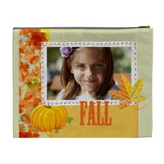 Fall By Joely   Cosmetic Bag (xl)   Ecehsrvsnr38   Www Artscow Com Back