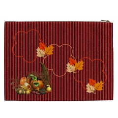 Fall Cosmetic Bag (xxl) By Elena Petrova   Cosmetic Bag (xxl)   6t52o9nushko   Www Artscow Com Back