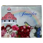 Rose garden Cosmetic Bag (XXXL) 2 sides