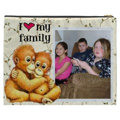 Orangutan Cosmetic Bag (xxxl) 2 Sides By Kim Blair   Cosmetic Bag (xxxl)   Q1s4qf3lecil   Www Artscow Com Back