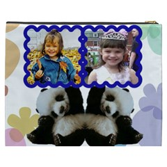 Panda Bear Cosmetic Bag (xxxl) 2 Sides By Kim Blair   Cosmetic Bag (xxxl)   J1zbgkjmp7wq   Www Artscow Com Back