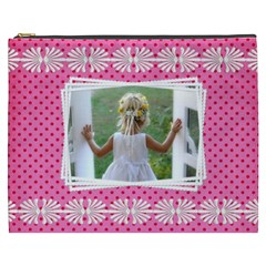 Little Lady Cosmetic Bag (xxxl) By Deborah   Cosmetic Bag (xxxl)   U812dns58v5h   Www Artscow Com Front