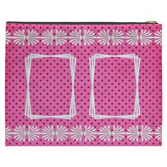 Little Lady Cosmetic Bag (xxxl) By Deborah   Cosmetic Bag (xxxl)   U812dns58v5h   Www Artscow Com Back