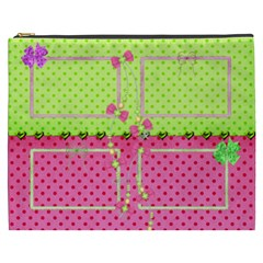 Little Princess Cosmetic Bag (xxxl) By Deborah   Cosmetic Bag (xxxl)   O0ys4yf7bkze   Www Artscow Com Front