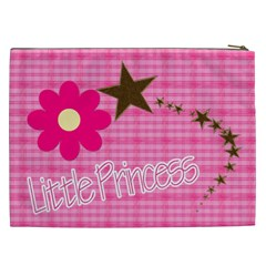 Little Princess Cosmetic Bag (xxl) By Picklestar Scraps   Cosmetic Bag (xxl)   X53rrae0tjpp   Www Artscow Com Back