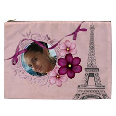French Quarter Cosmetic Bag (xxl)  By Picklestar Scraps   Cosmetic Bag (xxl)   Z1j6e4grco2h   Www Artscow Com Front