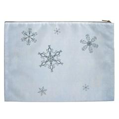 Simply Christmas Cosmetic Bag (xxl)  By Picklestar Scraps   Cosmetic Bag (xxl)   W9f3bbaul26i   Www Artscow Com Back