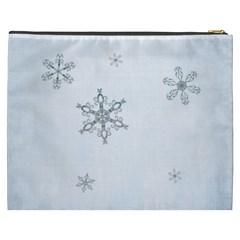 Simply Christmas Cosmetic Bag (xxxl)  By Picklestar Scraps   Cosmetic Bag (xxxl)   Witcdivbam6f   Www Artscow Com Back