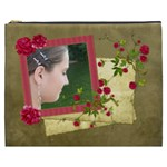 Shabby Rose Cosmetic Bag (XXXL)