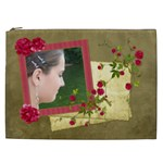 Shabby Rose Cosmetic Bag (XXL)