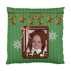 Peace/noel Cushiion Case (2 Sided) By Lil    Standard Cushion Case (two Sides)   Esbt7qyo5346   Www Artscow Com Front