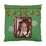 Peace/Noel Cushiion Case (2 Sided) - Cushion Case (Two Sides)